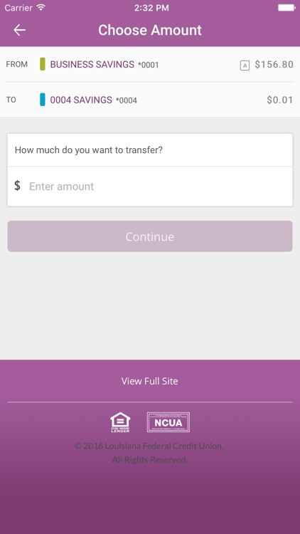 Louisiana FCU Mobile Banking screenshot-3