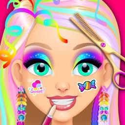 Rainbow Princess Hair Salon