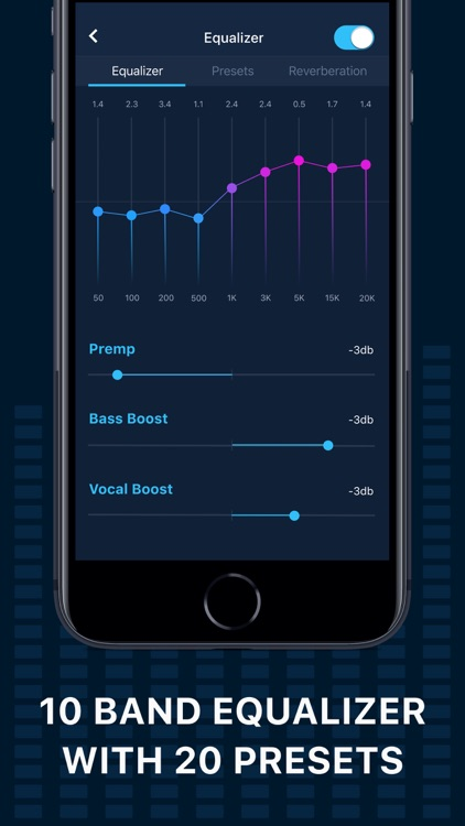 Boost your Music Player (EQ+)