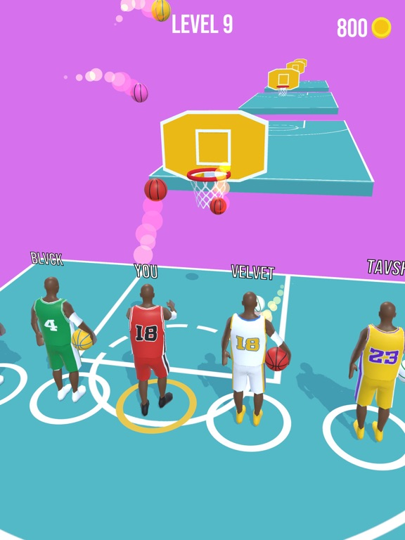Basket Race screenshot 8
