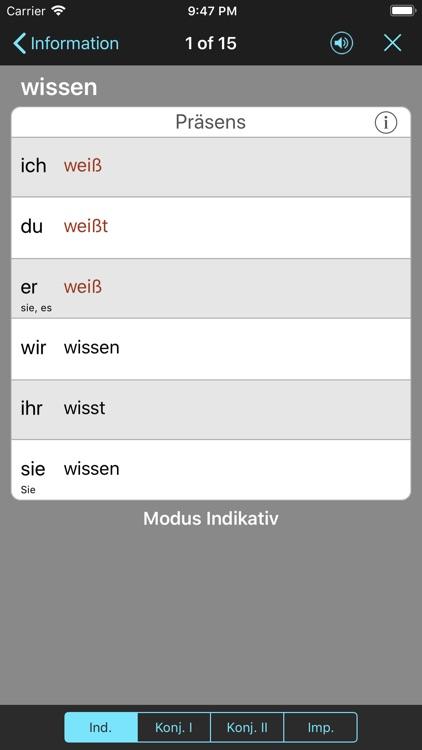 German Verbs & Conjugation