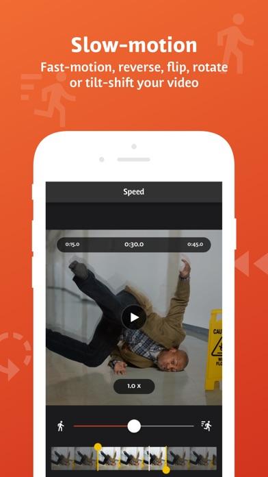 Screenshot for Videoshop EDU - Video Editor in United States App Store