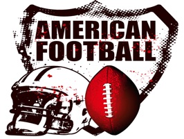 The AmericanFootballCN is a small sticker, which are show the 50 American Football sticker in cartoon