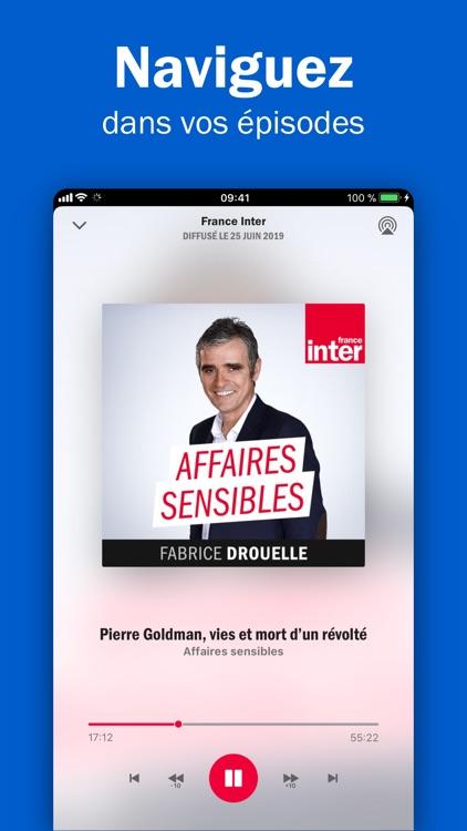 Radio France - podcasts, infos screenshot-4