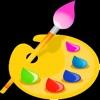 儿童画画游戏+益智拼图游戏