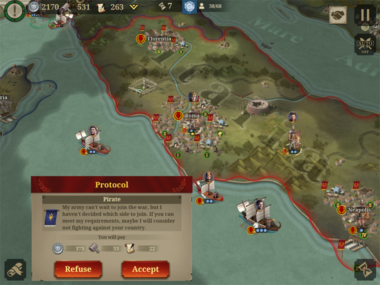 Great Conqueror: Rome screenshot 12
