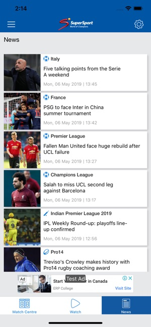 SuperSport on the App Store