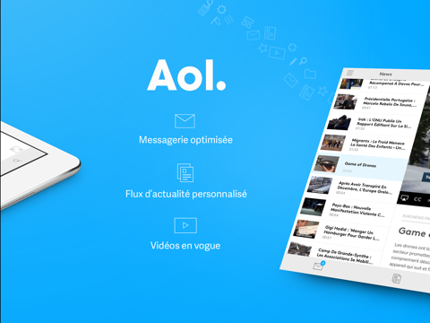AOL - Actualités, e-mail