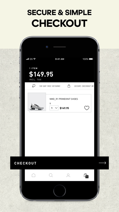Screenshot for adidas - Sports & Style in Brazil App Store