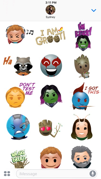 Marvel's Guardians Stickers screenshot-3