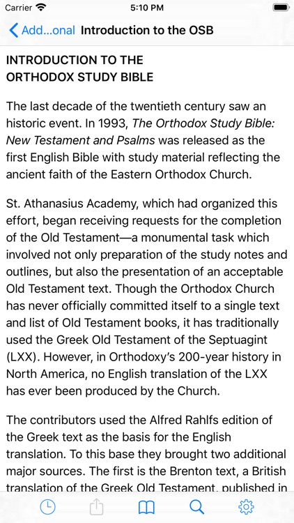 Orthodox Study Bible screenshot-9