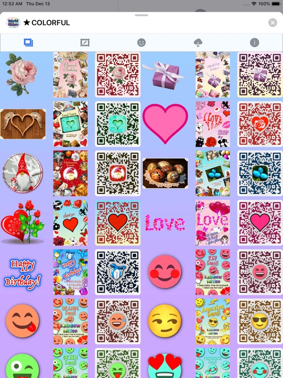 Colorful Stickers and Emoji screenshot 12