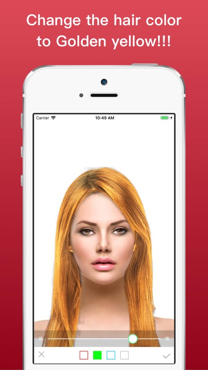 Hairstyle Try On Color Changer screenshot-3