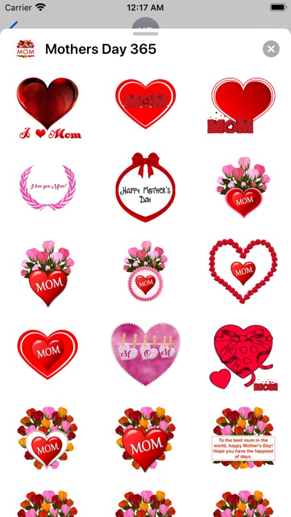 Mother's Day 365 Stickers screenshot-6