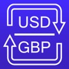 USD and GBP converter