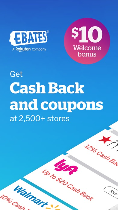 Screenshot for Ebates Rakuten: Get Cash Back in United States App Store