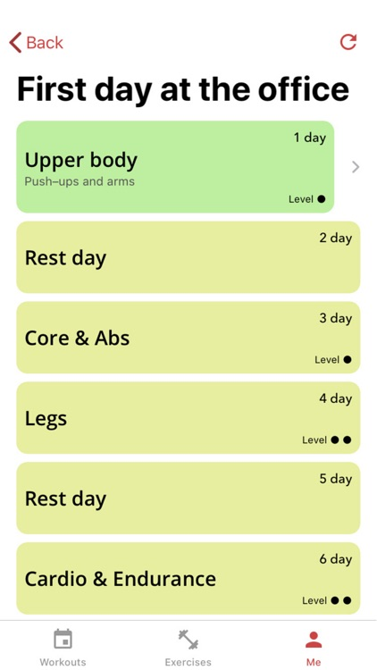4LONIX workout trainer screenshot-7