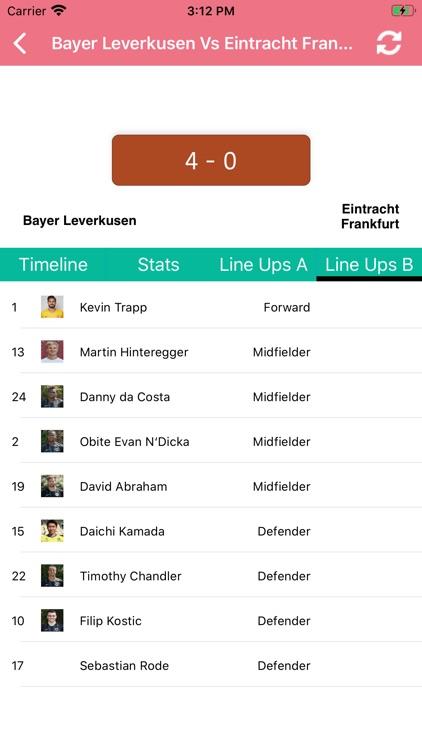 One Stop Football - Live Score screenshot-8