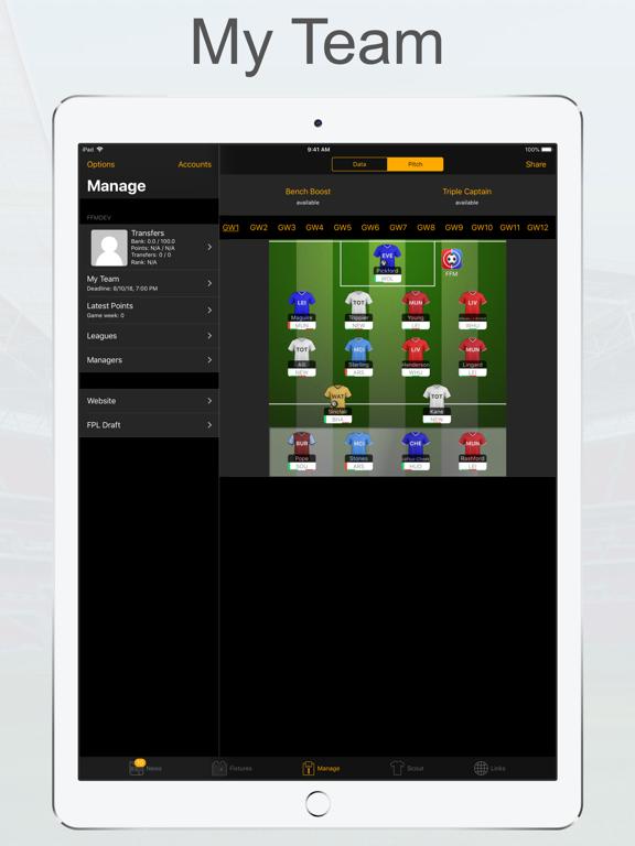 FPL Fantasy Football Manager screenshot