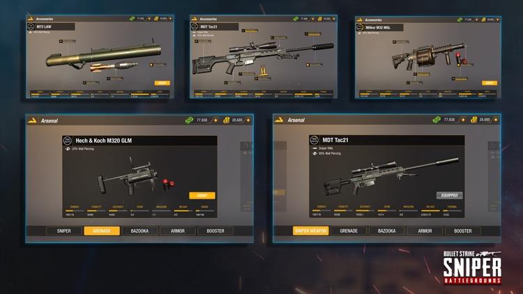 Sniper 3D: Bullet Strike PvP screenshot-5
