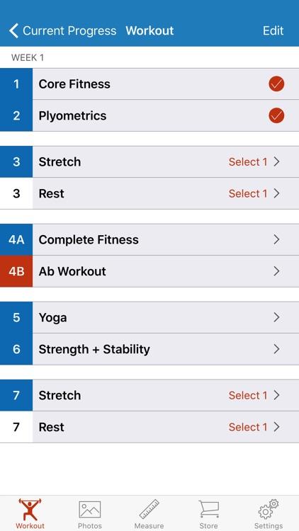 90 Day Workout Tracker 2 screenshot-3
