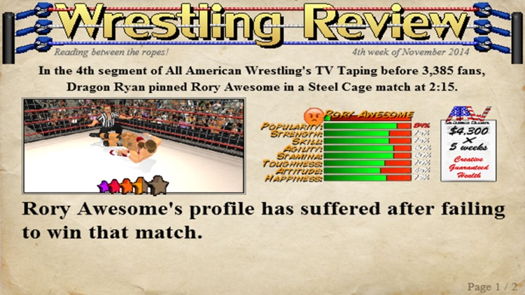 Wrestling Revolution 3D (Pro) screenshot-3