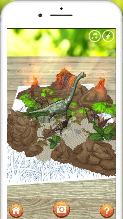 AR 3D dinosaurs screenshot-1