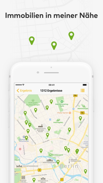 Screenshot for immowelt - immo Immobilien in Germany App Store