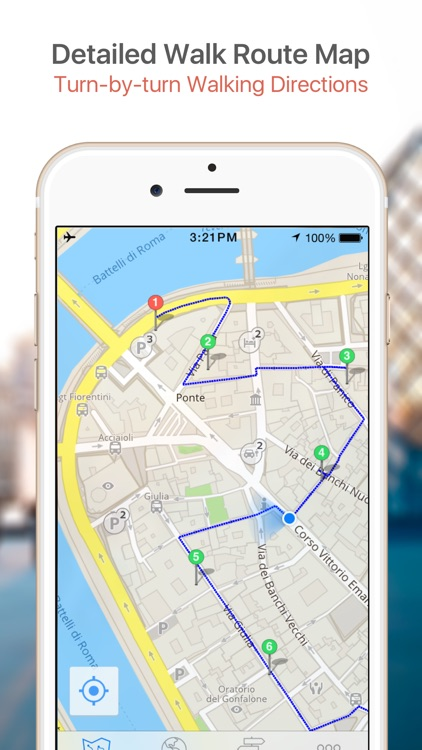 Tirana Map & Walks (F) screenshot-3