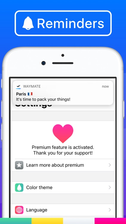 Waymate:Packing List Checklist screenshot-4