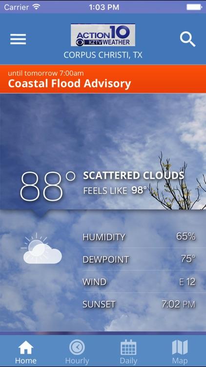 KZTV Weather