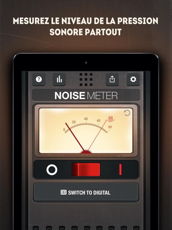 Screenshot #4 pour Sonomètre - Mesure Décibel
