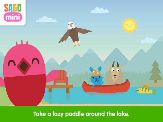 Sago Mini Camping screenshot 9