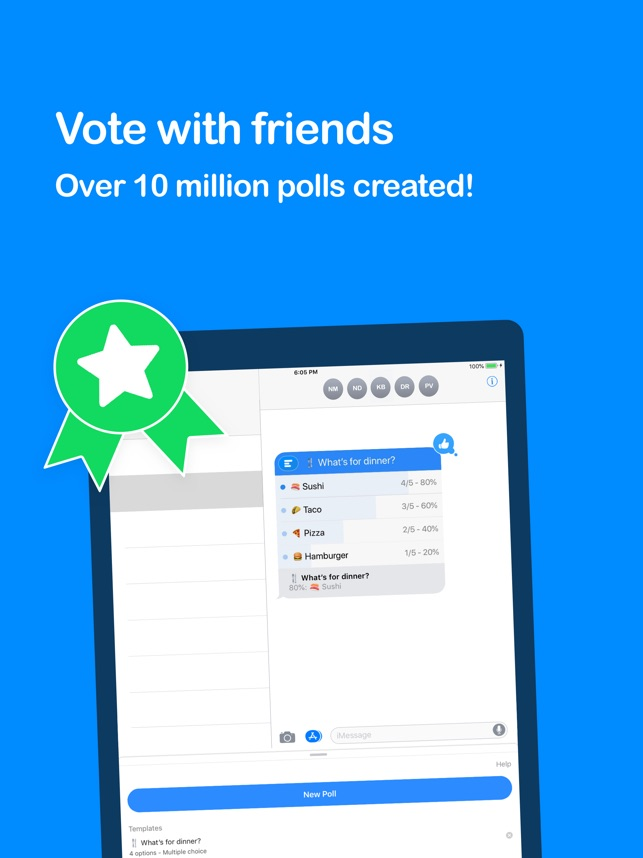 Poll - Decide as a group on the App Store