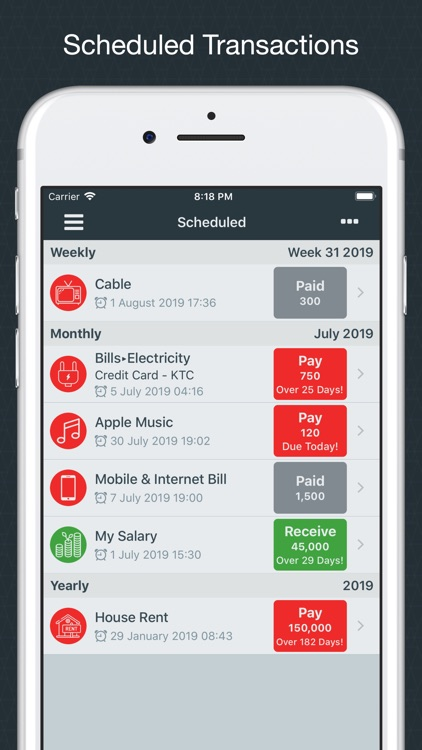 Money Easy Lite screenshot-6