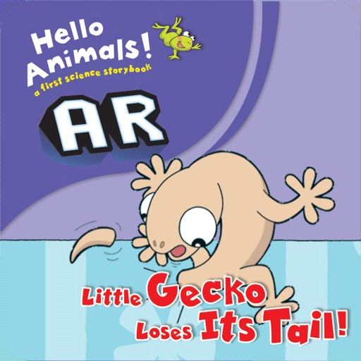 Little Gecko Loses Its Tail AR
