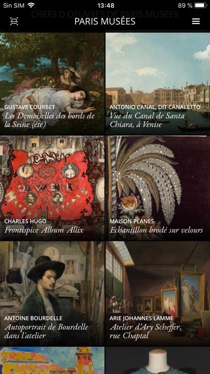 Paris Musées Second Canvas