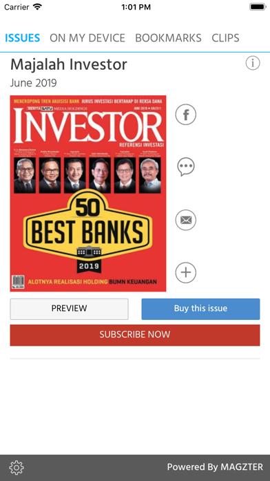 Majalah InvestorScreenshot of 1