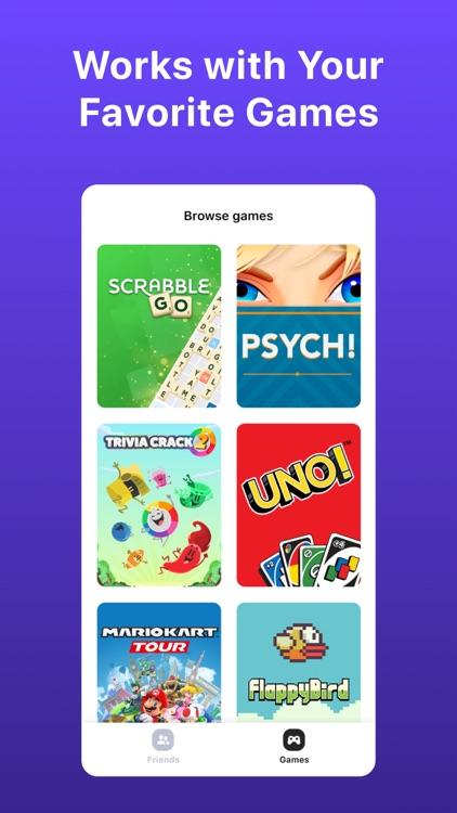Bunch Group Video Chat & Games screenshot-4