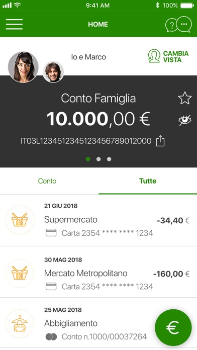 Screenshot for Intesa Sanpaolo Mobile in Italy App Store