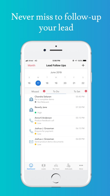 HelloLeads - Lead Management screenshot-3