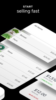 Square Point of Sale (POS) iphone images