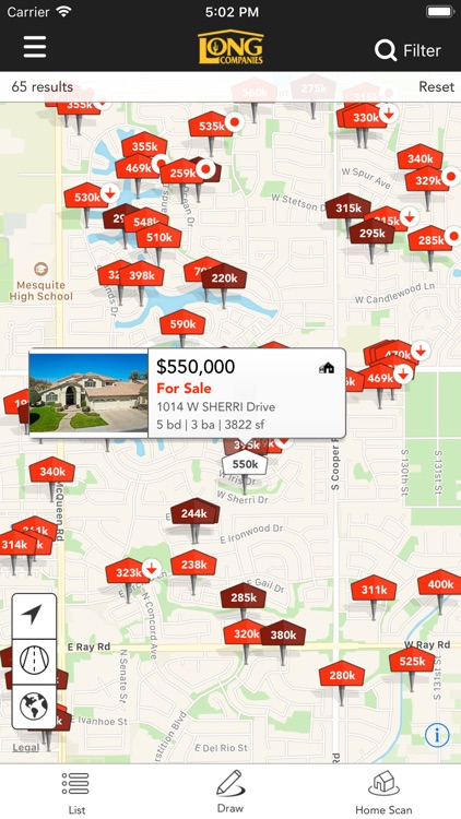 Long Realty AZ Home Search screenshot-0