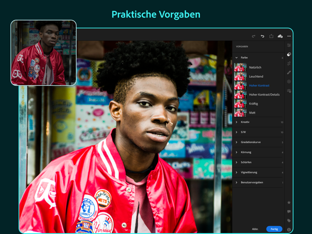 Adobe Lightroom for iPad Screenshot