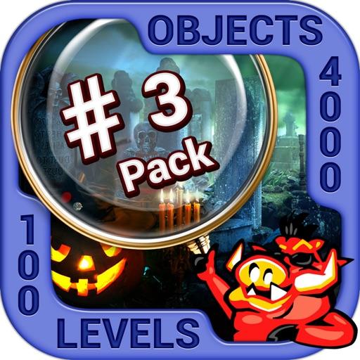 Pack 3 - 10 in 1 Hidden Object