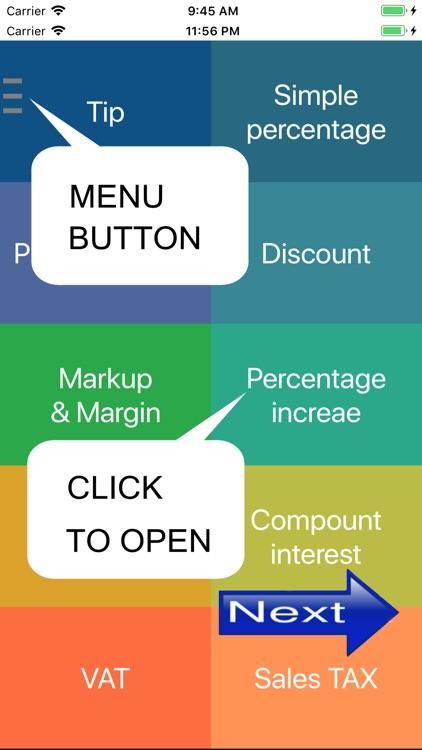 Simple percentage calculator screenshot-5