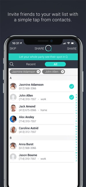 Q Waitlist Guest App On The App Store