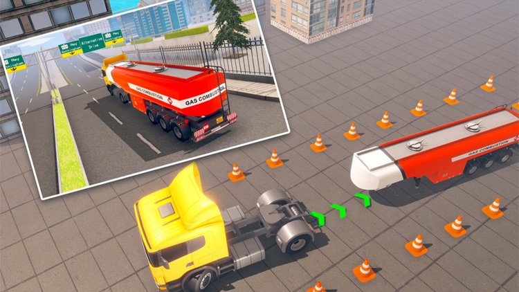 Futuristic Flying Truck Games screenshot-5