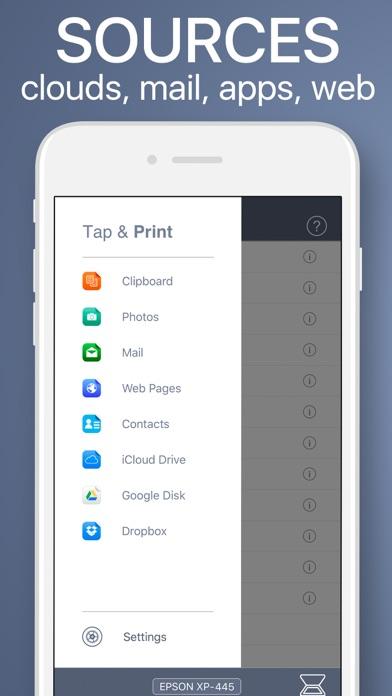 Tap & Print Screenshot