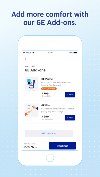 IndiGo | Flight Booking App screenshot three